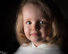 Ruby - low key and retouched (Wayne Cappleman (Haywain Photography)) Tags: haywain photography wayne cappleman portrait children child low key farnborough hampshire uk posed
