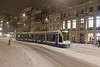 Rokin - Amsterdam (Netherlands) (Meteorry) Tags: europe nederland netherlands holland paysbas noordholland amsterdam centrum centre center rokin snow neige winter hiver blizzard evening soir night siemens combino 13g tram streetcar tramway public transport publique transportencommun transit gvb gvb2047 december 2017 meteorry