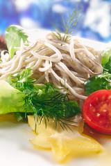 GULAS (iñaki preysler) Tags: cookbook comercialfood publicidad receta foodphotography gourmet gulas pescado food fish salad ensalada