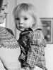 Jakob and mum (livsillusjoner) Tags: boy small young kid child children mum mom mother mama mamma son motherandson parent monochrome bw blackwhite blackandwhite black white grey smile plaid knit knitted portrait people