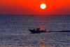 sunrise #7 (daniel0027) Tags: sunrise ocean eastsea silhouette fishingboats sea calmsea newyear ripple sun