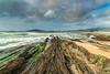 _FER2769p4 - Rocas. (Fernando Villar Saborido) Tags: rocks cielo sky beach playa rocas mar see verde green vert aire libre costa paisaje ola