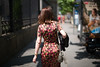 Madrid (Dimitri Tenezakis) Tags: people woman back behind frombehind street streetphotography city urban streetscape