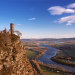 Kinnoull Hill Tower and River Tay thumbnail