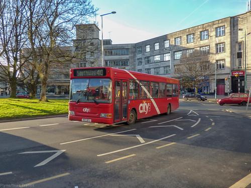 Plymouth Citybus 017 R117OFJ