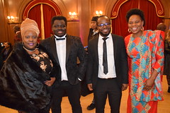 DSC_7094 Black British Entertainment Awards BBE Dec 2017 at Porchester Hall London by Jean Gasho Co Founder of BBE with Kofi Nino Ghana's Opera Singer and Justina Mutale from Zambia (photographer695) Tags: black british entertainment awards bbe dec 2017 porchester hall london by jean gasho co founder with justina mutale from zambia kofi nino ghanas opera singer