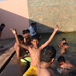Hot Water River Bath @ Dholera (1)