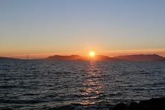 Sunset San Francisco Bay (georgehart64) Tags: bay sanfrancisco sunset goldengatebridge