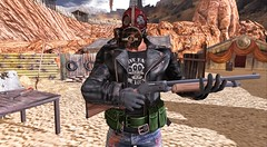 Fallout Evolved - Mac The Legend (Mac Rackham) Tags: fallout secondlife roleplay sl remarkable oblivion lb nuclear war apocalypse bento gianni catwa signature ro last stand gas mask try me combat lapointe bastchild