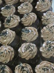 Work Cupcake (earthdog) Tags: 2017 work office canon canonpowershotsx720hs powershot sx720hs food edible cupcake dessert blur