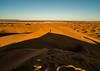 On the top of the dune (missfisher') Tags: desert sahara morocco merzouga ergchebbi samyang12mm sunrise goldenhour shadow