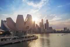 Sunset ([~Bryan~]) Tags: sunset singapore cityscape light weather sky sunnyday urbanlandscape asia city urban bryanleung