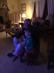 "Paul Watches Frozen with Grandpa Morton on Christmas • <a style=""font-size:0.8em;"" href=""http://www.flickr.com/photos/109120354@N07/25519789108/"" target=""_blank"">View on Flickr</a>"