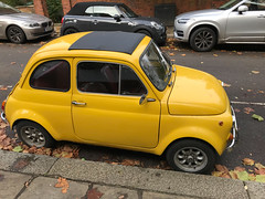 Fiat 500L profile (quinet) Tags: 2017 london uk vancouver britishcolumbia canada 124
