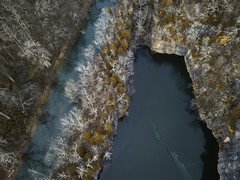 shipwreck from above (JordanDoane) Tags: drone dji mavic pro dpi ship wreck quary fall arial ariel photography