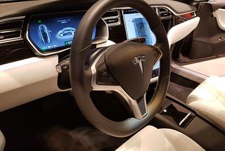 Tesla Model S 100D. December 28. Driving Tesla... 😊💕