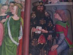 Le messager, église-halle gothique (XIVe-XVe) St Johannis, Lunebourg,  Basse-Saxe, République Fédérale d'Allemagne. (byb64) Tags: lüneburg lunenburg hansestadtlüneburg hanse bassesaxe niedersachsen lowersaxony bajasajonia bassasassonia allemagne deutschland germany germania alemania rfa brd frg europe europa eu ue ville city town stadt citta ciudad altstadt blumlagealtstadt église church chiesa kirche iglesia éhlisehalle hallenkirche xive xve 14th 15th moyenage medioevo middleages edadmedia gothique gotico gothic artgothique lutherian xvie 16th cinquecento