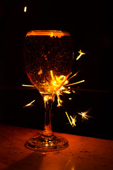 Glass of sparkly anyone (jon lees) Tags: ivy bar camera club wine champagne sparkly