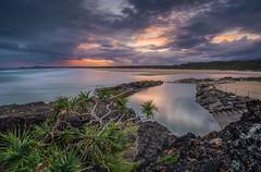 Sawtell Memorial Rock Pool (yecatsiswhere) Tags: 2017 ocean pool sunset clouds outdoor sky australia coast coastline rocks rock seascape seaside sea sawtell coffscoast rockpool nsw bonvilleheadland pacific baths