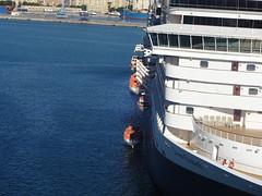 Crew drill (Sharon Burkhardt) Tags: brillianceoftheseas royalcaribbean cruising malaga spain