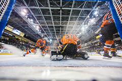 "Kansas City Mavericks vs. Colorado Eagles, December 16, 2017, Silverstein Eye Centers Arena, Independence, Missouri.  Photo: © John Howe / Howe Creative Photography, all rights reserved 2017. • <a style=""font-size:0.8em;"" href=""http://www.flickr.com/photos/134016632@N02/27360160769/"" target=""_blank"">View on Flickr</a>"