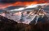 montagne rocciose (art & mountains) Tags: alpi alps ossola antigorio cime corno punte pizzi frizzi sunset cielo nuvole respiro creste granito roccia bosco hiking esc esp condivisione vision dream spirit hpffilter art