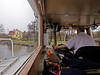 View from the bridge on board the commuter boat Kung Ring in Stockholm, captain Lennart at the helm. We are departing from Blockhusudden jetty on the island of Djurgården. (Franz Airiman) Tags: sjövägen sl pendelbåt kollektivtrafik rederiabballerina rederiaktiebolagetballerina commuterboat commutership båt boat ship fartyg stockholm sweden scandinavia publictransport kungring mskungring wheelhouse brygga bridge styrhytt kaptenl djurgården blockhusudden