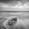 Murlough monochrome (Donard850) Tags: countydown irishsea murlough northernireland beach clouds pebbles sea surf