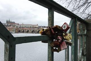 Prag Praha Karlsbrücke Karluv Most Burg Hradcany