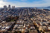 Russian hill from the Coit Tower. (knnku) Tags: city cityscape building buildings san francisco sf sanfrancisco wander travel world california us explore adventure kenniku 2017 december urban residential hilly