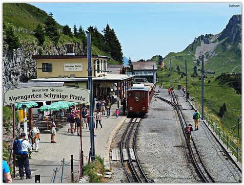 Schynige Platte - Bahnhof
