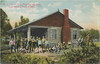 """NW Cadillac MI 1909 YMCA BOYS CAMP on Lake Mitchell Cabin and Bungalow View with Campers and THE RA or Camp Supervisor there as a large Downtown Wexford YMCA  Building too (UpNorth Memories - Donald (Don) Harrison) Tags: vintage antique postcard rppc """"don harrison"""" """"upnorth memories"""" upnorth memories upnorthmemories michigan history heritage travel tourism restaurants cafes motels hotels """"tourist stops"""" """"travel trailer parks"""" cottages cabins """"roadside"""" """"natural wonders"""" attractions usa puremichigan """" railroad ferry excursion boats ships bridge logging lumber michpics"""