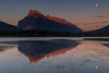 Rundle Mountain and Vermillion Lakes (tvrdypavel) Tags: alberta background banff beautiful behind canada canadian colorful exposure lake landscape long majestic morning mount mountain national nature outdoors park pristine reflection rocky rundle scenery scenic second sky sunrise travel vermilion vermillion water