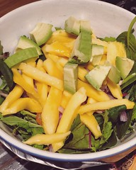 Green #mango #chilly #salad