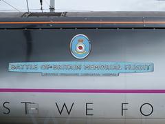 91110 BATTLE OF BRITAIN MEMORIAL FLIGHT (rob50037) Tags: 91110 battle of britain memorial flight