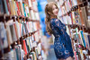 DSC_4106 (Robin Huang 35) Tags: 陳姿含 karry 板橋書店 書店 nb notebook sony vaio 人像 portrait lady girl nikon d810