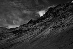 (LucasHE) Tags: mountain sky blackandwhite bw highcontrast sony a7 a7ii nature iceland south mountains mars like