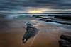 Africa (Crouchy69) Tags: sunrise dawn landscape seascape ocean sea water coast clouds sky rocks sand turimetta beach sydney australia