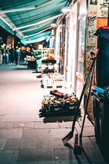 Hamburg Street Scene with Br (mripp) Tags: art vintage retro street old hamburg germany deutschland strase schanzenviertel sternschanze cool leica m10 summilxu 50mm shop shopping einkaufen