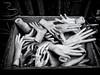 Box of Hands (Feldore) Tags: paris box hands mannequin dummy plastic street montmartre french shop strange antique feldore mchugh em1 olympus 17mm market spooky