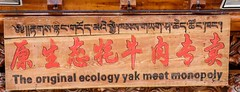 Nothing like a game of Monopoly! (DepictingPhotos) Tags: asia china chinglese humour signs zhongdian