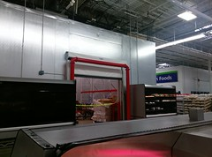 New dairy cooler, being prepped for customers (l_dawg2000) Tags: 2017remodel apparel café desotocounty electronics food gasstation meats mississippi ms pharmacy photocenter remodel samsclub southaven tires walmart wholesaleclub unitedstates usa