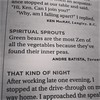 Spiritual Sprouts (yummysmellsca) Tags: jokes readersdigest