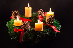 Advent Wreath (Theo Crazzolara) Tags: advent wreath adventwreath adventkrant weihnachten christmas winter december romantic idyllic beautiful candle light