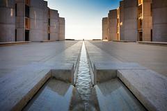 Salk Institute   La Jolla, CA   Louis Kahn (Pete Sieger) Tags: archmnmagsandiego2017 california lajolla louiskahn salkinstitute sandiego usa exterior healthcare medical peterjsieger research sieger