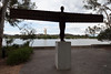 Angel of the North by Anthony Gormley (Mikey Down Under) Tags: anthonygormley nga act angelofthenorth australia barton burleygriffin canberra gallery lake national silhouette small