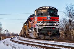SoPac Visits C-Bus (Wheelnrail) Tags: up union pacific 1996 southern heritage unit daylight locomtive railroad rail road rails emd sd70ace locomotive columbus ohio sandusky district coal 851 sp espee sunset 2017 december 31