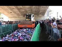 João Doria destrói mercadorias apreendidas na cidade nas operações de combate ao contrabando (portalminas) Tags: joão doria destrói mercadorias apreendidas na cidade nas operações de combate ao contrabando