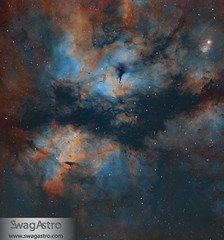 IC1318 - The Butterfly nebula (Sara Wager (www.swagastro.com)) Tags: astrophotography astro astronomy telescope ic1318 space universe