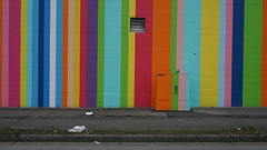 Stripes, sidewalks and colour (planted city) Tags: vancouver city streets streetart urban life culture art colour design publicspace publicart pnw pacificnorthwest cities britishcolumbia bc canada getoutside explore winter urbanphotography